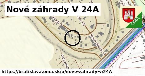 Nové záhrady V 24A, Bratislava