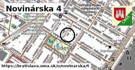 Novinárska 4, Bratislava