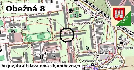 Obežná 8, Bratislava