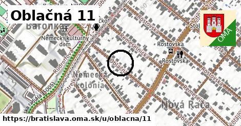 Oblačná 11, Bratislava