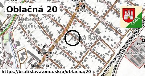 Oblačná 20, Bratislava