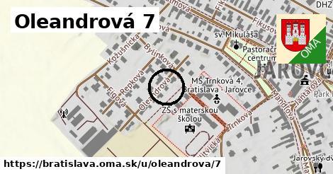 Oleandrová 7, Bratislava