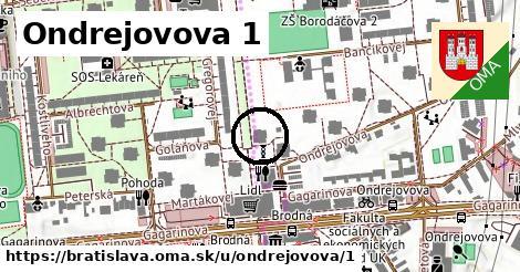 Ondrejovova 1, Bratislava