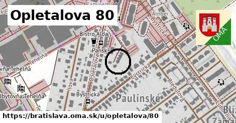Opletalova 80, Bratislava