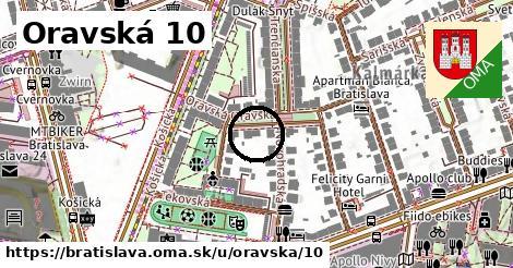 Oravská 10, Bratislava