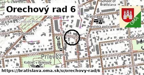 Orechový rad 6, Bratislava