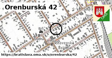 Orenburská 42, Bratislava