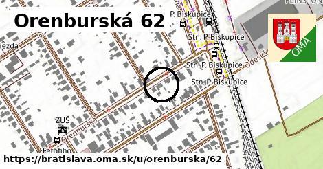 Orenburská 62, Bratislava