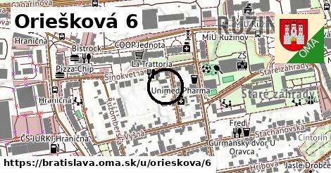 Oriešková 6, Bratislava
