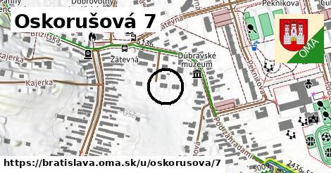 Oskorušová 7, Bratislava