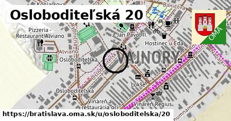 Osloboditeľská 20, Bratislava
