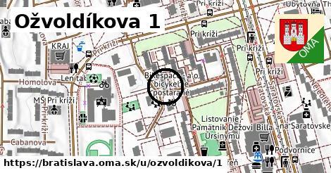 Ožvoldíkova 1, Bratislava