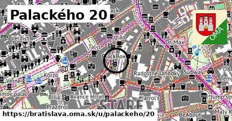 Palackého 20, Bratislava