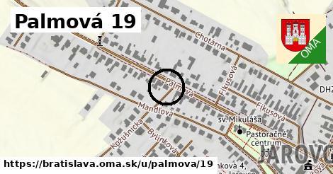 Palmová 19, Bratislava