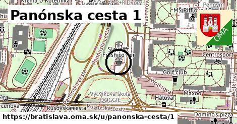 Panónska cesta 1, Bratislava