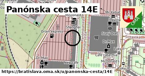 Panónska cesta 14E, Bratislava