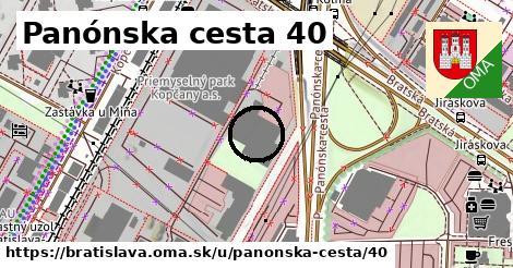 Panónska cesta 40, Bratislava