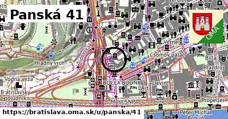 Panská 41, Bratislava