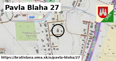 Pavla Blaha 27, Bratislava