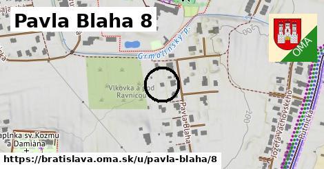 Pavla Blaha 8, Bratislava