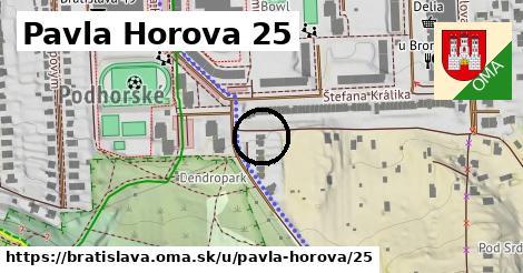 Pavla Horova 25, Bratislava