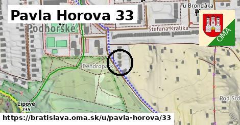 Pavla Horova 33, Bratislava