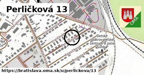 Perličková 13, Bratislava