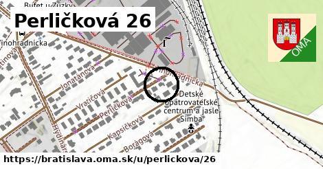Perličková 26, Bratislava