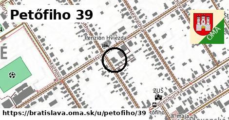 Petőfiho 39, Bratislava