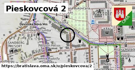 Pieskovcová 2, Bratislava