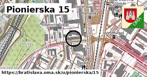 Pionierska 15, Bratislava