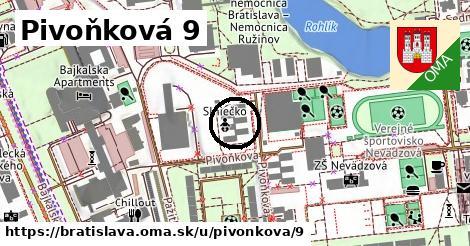 Pivoňková 9, Bratislava