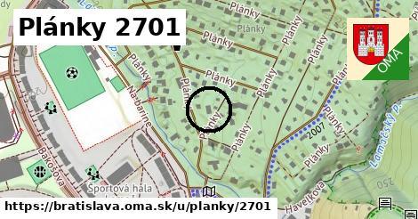 Plánky 2701, Bratislava
