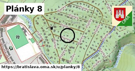 Plánky 8, Bratislava
