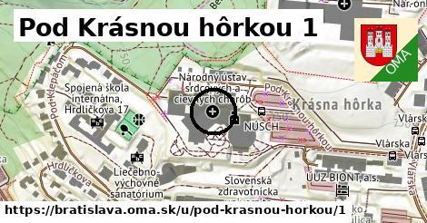 Pod Krásnou hôrkou 1, Bratislava