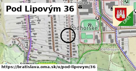 Pod Lipovým 36, Bratislava