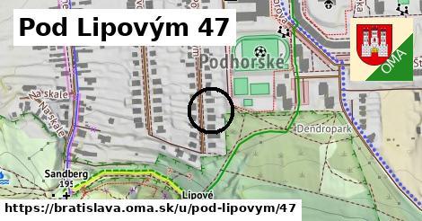 Pod Lipovým 47, Bratislava