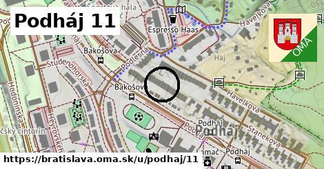 Podháj 11, Bratislava