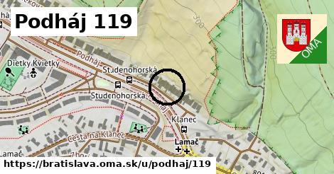Podháj 119, Bratislava