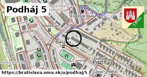 Podháj 5, Bratislava