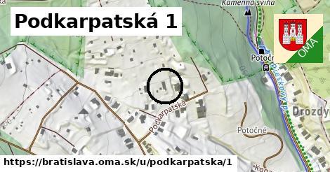 Podkarpatská 1, Bratislava