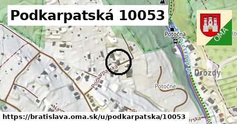 Podkarpatská 10053, Bratislava