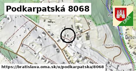 Podkarpatská 8068, Bratislava