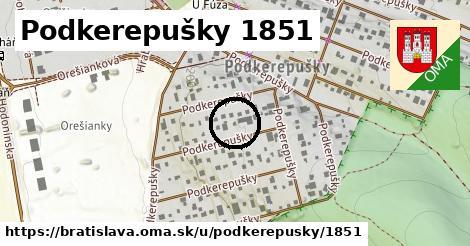 Podkerepušky 1851, Bratislava