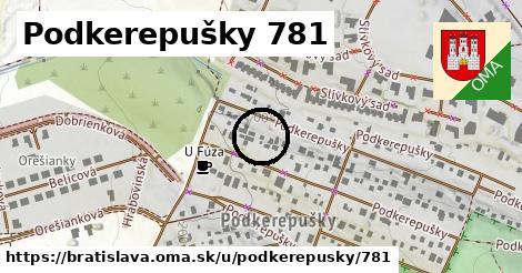 Podkerepušky 781, Bratislava