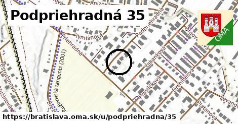 Podpriehradná 35, Bratislava