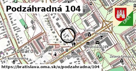 Podzáhradná 104, Bratislava