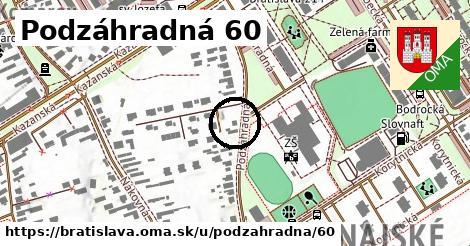 Podzáhradná 60, Bratislava