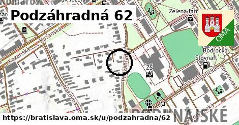 Podzáhradná 62, Bratislava