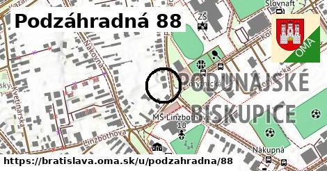 Podzáhradná 88, Bratislava